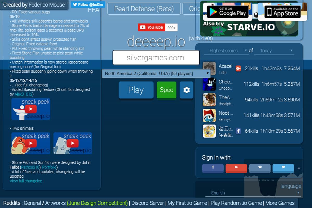 Deeep Io Game