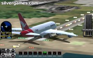 airplane simulator gameplay