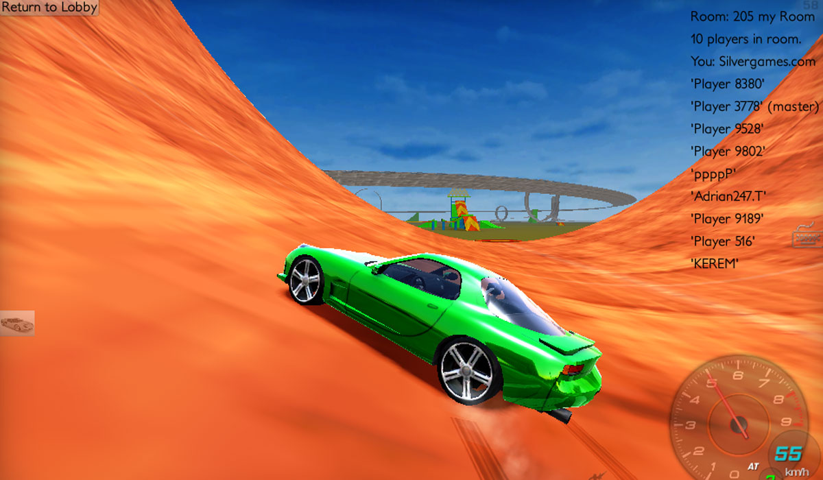 Car Stunts: Multiplayer Stunt Racing Game By