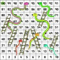 snakes and ladders printable